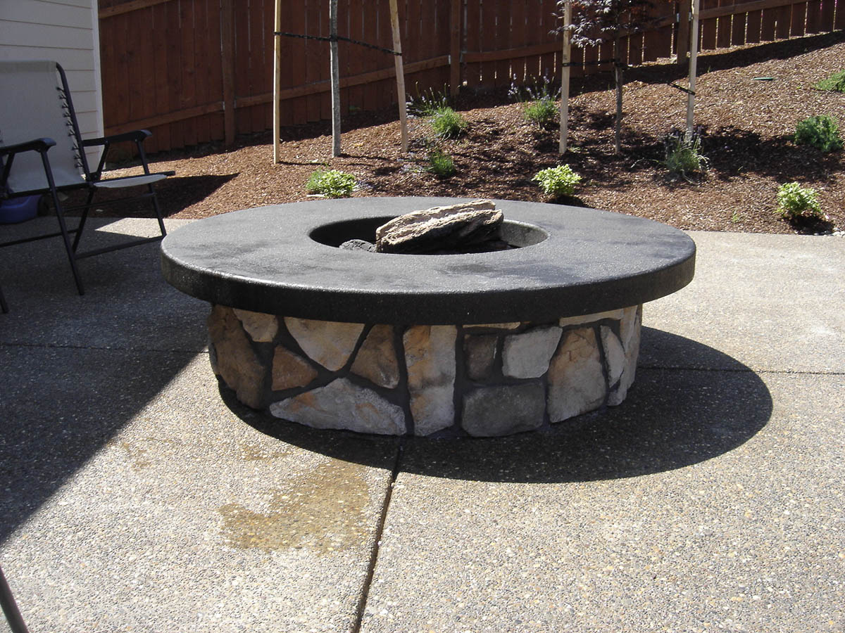 Fire pits nugent masonry for Fire pit project